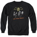Aerosmith Shirt Get Your Wings Long Sleeve Black Tee T-Shirt
