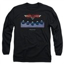 Aerosmith Shirt Rocks Long Sleeve Black Tee T-Shirt