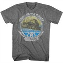 Aerosmith Shirt Train Kept A Rollin Tour 1974 Grey T-Shirt