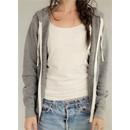 Alternative Apparel Ladies Full Zip Hoodie Rocky Eco Grey Hoody