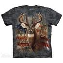 American Buck Shirt Tie Dye Adult T-Shirt Tee