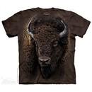 American Buffalo Shirt Tie Dye Adult T-Shirt Tee
