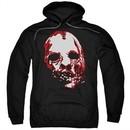 American Horror Story Hoodie Bloody Face Black Sweatshirt Hoody