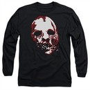 American Horror Story Long Sleeve Shirt Bloody Face Black Tee T-Shirt