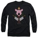 American Horror Story Long Sleeve Shirt Pig Cleavers Black Tee T-Shirt