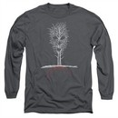 American Horror Story Long Sleeve Shirt Scary Tree Charcoal Tee T-Shirt