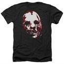 American Horror Story Shirt Bloody Face Heather Black T-Shirt