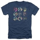 American Horror Story Shirt Cabinet Of Curiosities Heather Navy Blue T-Shirt