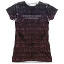 American Horror Story Shirt Disturbing Images Sublimation Juniors T-Shirt Front/Back Print