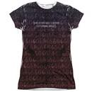 American Horror Story Shirt Disturbing Images Sublimation Juniors T-Shirt