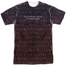 American Horror Story Shirt Disturbing Images Sublimation T-Shirt