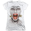 American Horror Story Shirt Fear Face Sublimation Juniors T-Shirt