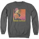 American Horror Story Sweatshirt Marie Laveau Adult Charcoal Sweat Shirt