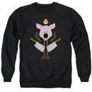 American Horror Story Sweatshirt Pig Cleavers Adult Black Sweat Shirt