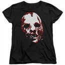 American Horror Story Womens Shirt Bloody Face Black T-Shirt