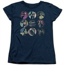 American Horror Story Womens Shirt Cabinet Of Curiosities Navy Blue T-Shirt