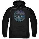 Ancient Aliens Hoodie Symbol Logo Black Sweatshirt Hoody