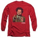 Ancient Aliens Long Sleeve Shirt It Must Be Aliens Red Tee T-Shirt