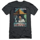 Ancient Aliens Slim Fit Shirt Comic Page Charcoal T-Shirt