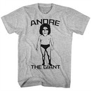 Andre The Giant Shirt Big Head Athletic Heather T-Shirt