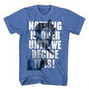 Animal House Shirt Nothings Over Blue Heather T-Shirt