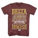 Animal House Shirt Toga Party 78 Maroon Heather T-Shirt