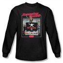 Animal House T-shirt Movie Ramming Speed Black Long Sleeve Tee Shirt