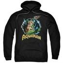 Aquaman Hoodie Ruler Of The Seas Black Sweatshirt Hoody