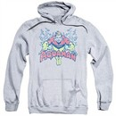 Aquaman Hoodie Splish Splash Athletic Heather Sweatshirt Hoody