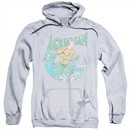 Aquaman Hoodie Wave Athletic Heather Sweatshirt Hoody
