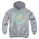 Aquaman Kids Hoodie Wave Athletic Heather Youth Hoody
