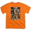 Aquaman Kids Shirt King Of Atlantis Orange T-Shirt