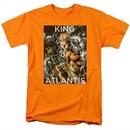 Aquaman Shirt King Of Atlantis Orange T-Shirt