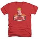 Aquaman Shirt Sign Heather Red T-Shirt