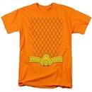 Aquaman Shirt Uniform Orange T-Shirt