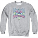 Aquaman Sweatshirt Splish Splash Adult Athletic Heather Sweat Shirt