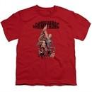 Archer & Armstrong Kids Shirt Hang On Red T-Shirt