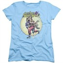 Archer & Armstrong Womens Shirt Carried Away Light Blue T-Shirt