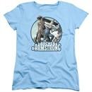 Archer & Armstrong Womens Shirt Smack Down Light Blue T-Shirt
