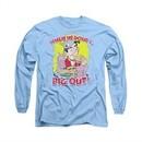Archie Shirt Pig Out Long Sleeve Carolina Blue Tee T-Shirt