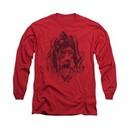 Arkham Knight Shirt Harley Diamond Long Sleeve Red Tee T-Shirt