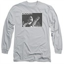 Army Of Darkness Long Sleeve Shirt Groovy Silver Tee T-Shirt