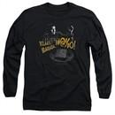 Army Of Darkness Long Sleeve Shirt Klaatu...Barada Black Tee T-Shirt