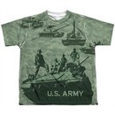 Army Shirt Tank Up Sublimation Youth T-Shirt