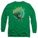Arrow Shirt Beware Long Sleeve Kelly Green Tee T-Shirt