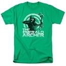 Arrow Shirt Emerald Archer Kelly Green T-Shirt