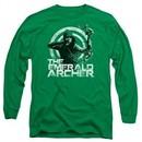 Arrow Shirt Emerald Archer Long Sleeve Kelly Green Tee T-Shirt