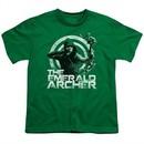 Arrow Shirt Kids Emerald Archer Kelly Green T-Shirt
