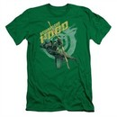 Arrow Shirt Slim Fit Beware Kelly Green T-Shirt