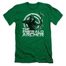 Arrow Shirt Slim Fit Emerald Archer Kelly Green T-Shirt